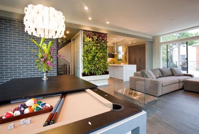Wall Painting - Green as a Decorative Accent in Home Interior Design