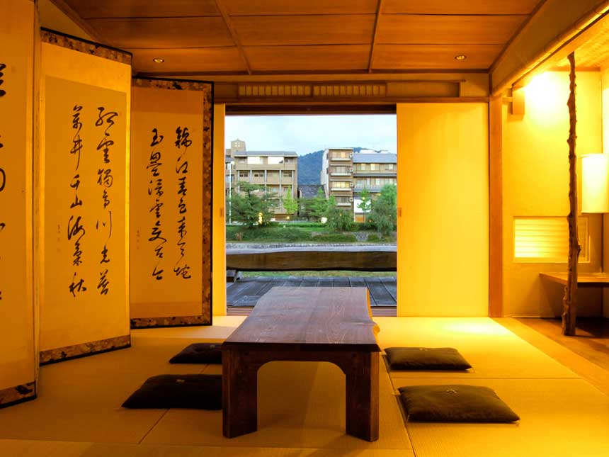 Contemporary house interior design in japanese style for Japanese style home interior design
