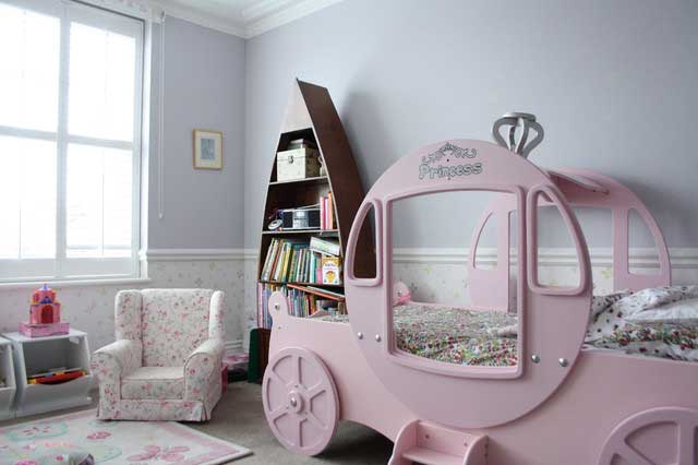 Kids Room - Victorian Style House with Contemporary Interior