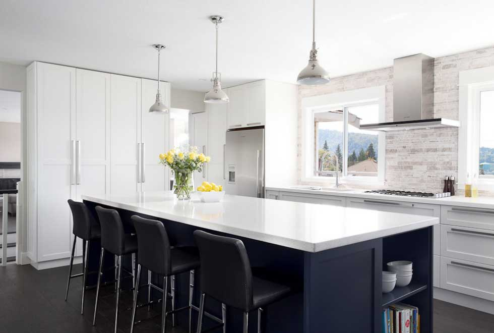 10 examples of white kitchen interior design ideas - How to design a kitchen layout ...