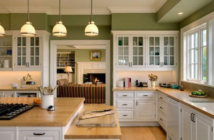 Kitchen - Best USA Decor Examples of Home Wall Painting Ideas