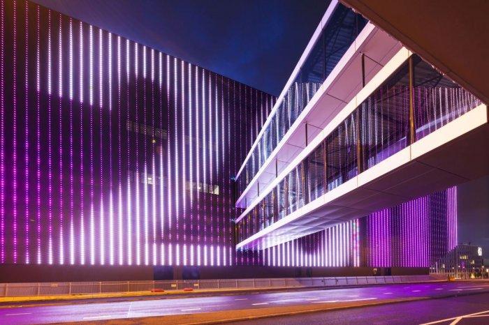 LED Facade - Amsterdam's Contemporary Architecture - Тhe Ziggo Dome