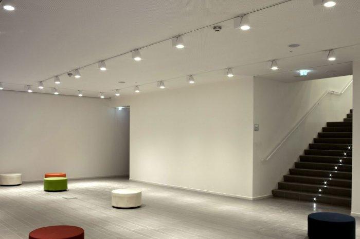 Library Interior - Maranello Library Architecture and Design in Italy