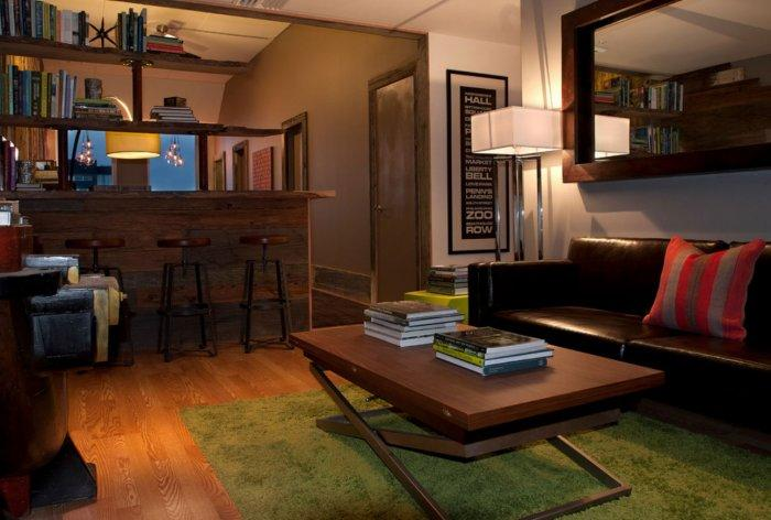 Living Room - Eclectic Home Decorating Ideas - The City Lifestyle