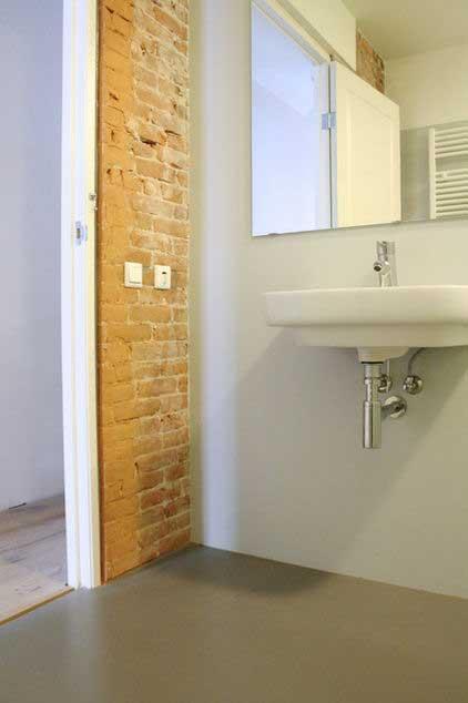 Loft Bathroom - Apartment Interior Design - Contemporary Lifestyle
