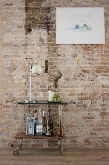 Loft Brick Wall - Apartment Interior Design - Contemporary Lifestyle
