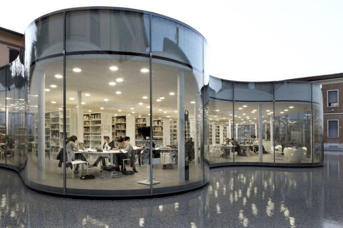 Maranello Library Architecture and Design in Italy