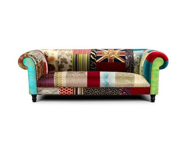 Hand-Decorated Eclectic Mid Century Modern Furniture