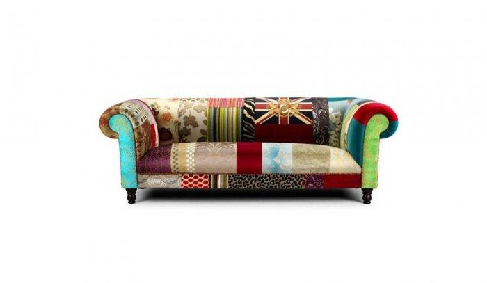 Hand decorated eclectic mid century modern furniture for Modern eclectic furniture