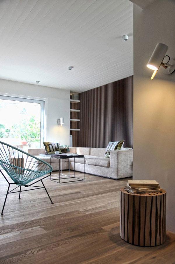 Living Room Interior - Stylish Minimalist Penthouse Designed to Impress
