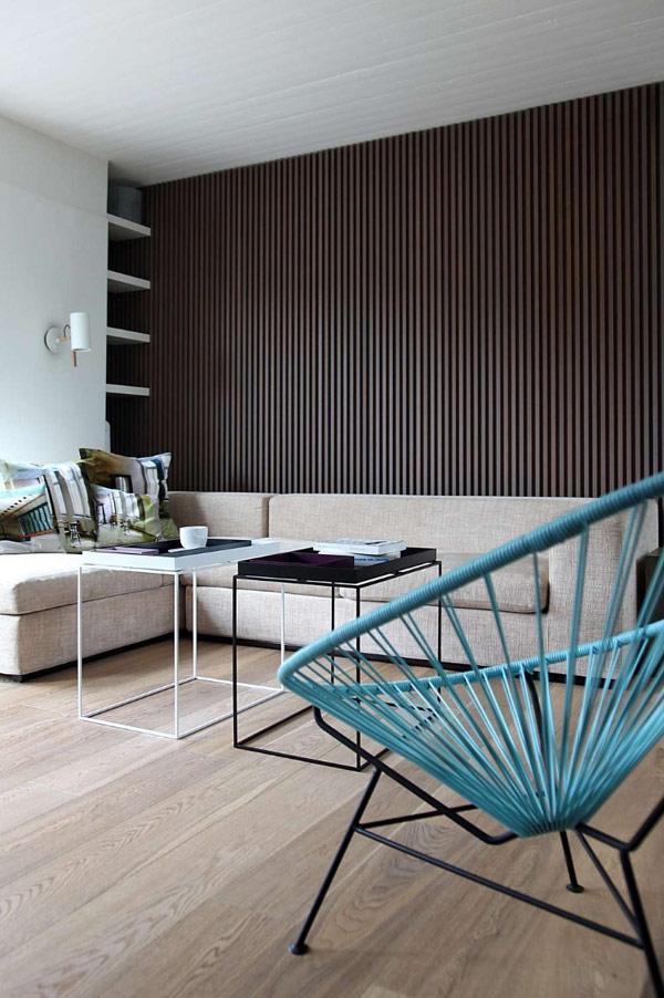 Living Room - Stylish Minimalist Penthouse Designed to Impress