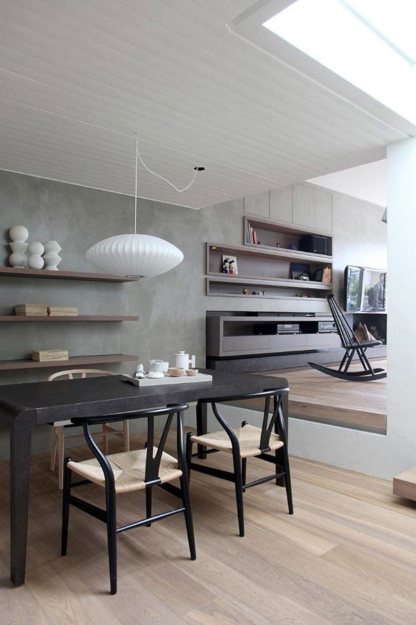 Stylish Minimalist Penthouse Designed in a Neat Way.