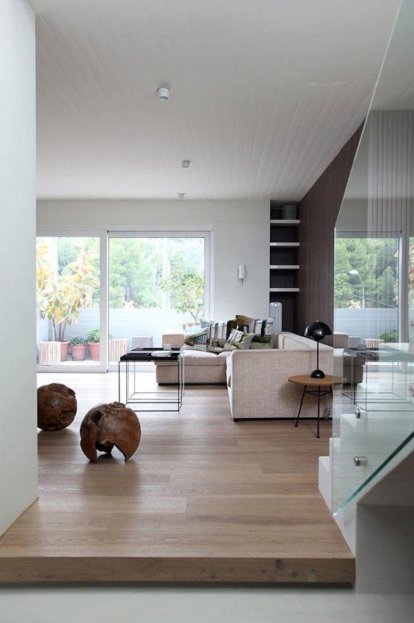 Stylish Minimalist Penthouse Interior and Decoration