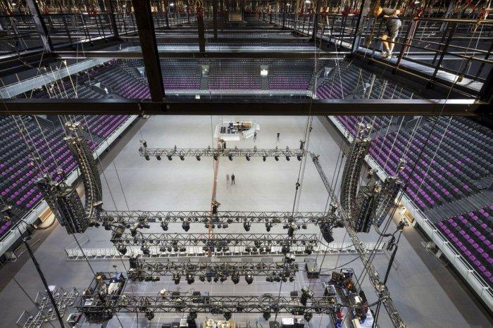 Modular Flexible Ceiling - Amsterdam's Contemporary Architecture - Тhe Ziggo Dome