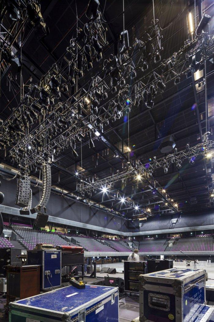 Music Stage - Amsterdam's Contemporary Architecture - Тhe Ziggo Dome