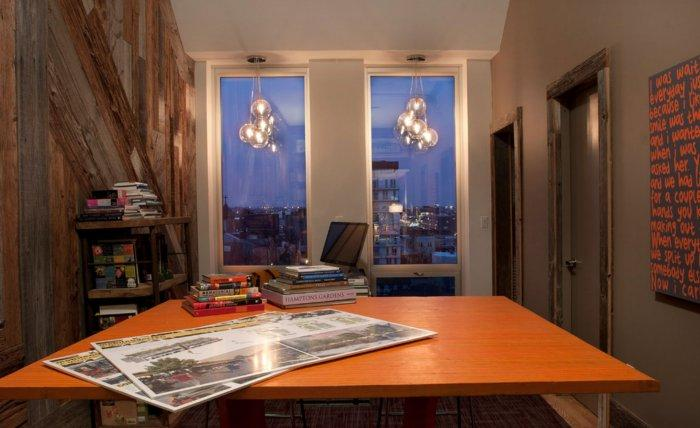Penthouse City View - Eclectic Home Decorating Ideas - The City Lifestyle