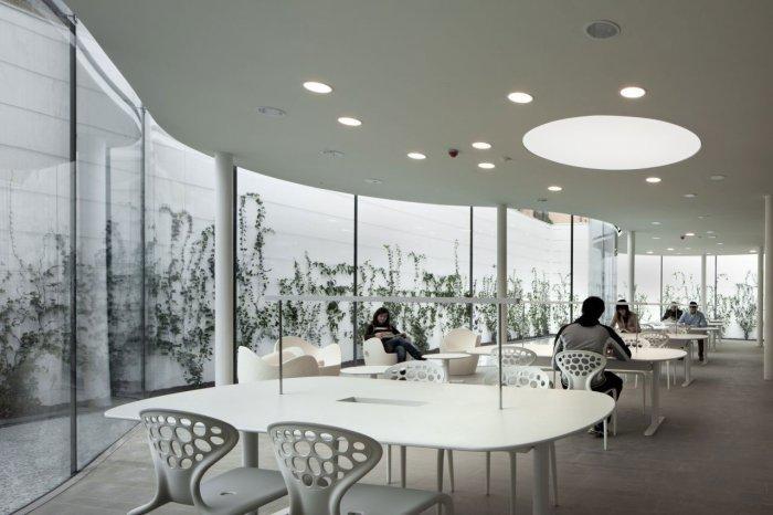 Reading Area - Maranello Library Architecture and Design in Italy