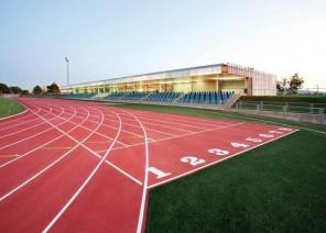 Running Track - Sustainable Architecture Project for a Sports Facility