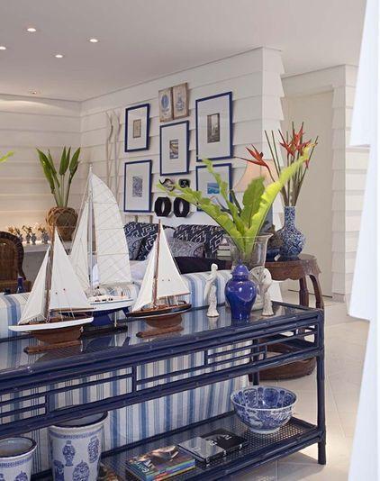 Sea Decorative Elements - Gorgeous Coastal House on the French Riviera