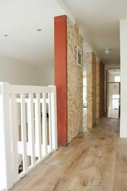 Second Level Hallway - Loft Apartment Interior Design - Contemporary Lifestyle