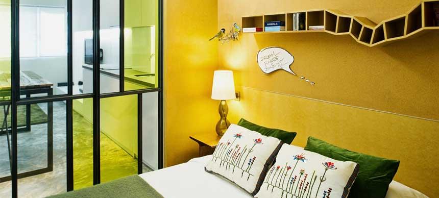 Small Studio Apartment Interior Design in Hong Kong ...