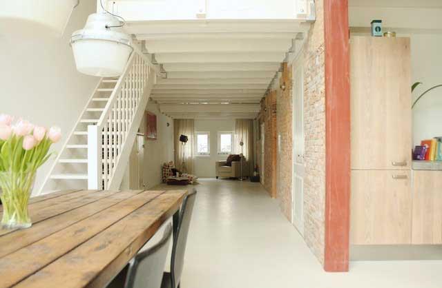 Spacious Dining Room - Loft Apartment Interior Design - Contemporary Lifestyle