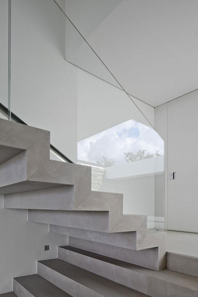 Staircase Design - Luxury Countryside Contemporary House near Sao Paulo
