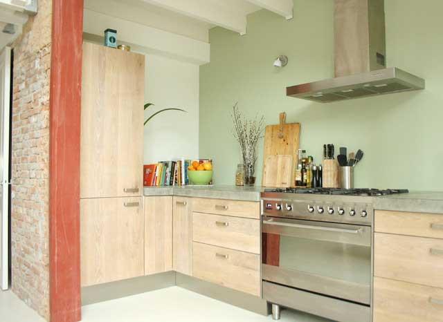 Stylish Kitchen - Loft Apartment Interior Design - Contemporary Lifestyle