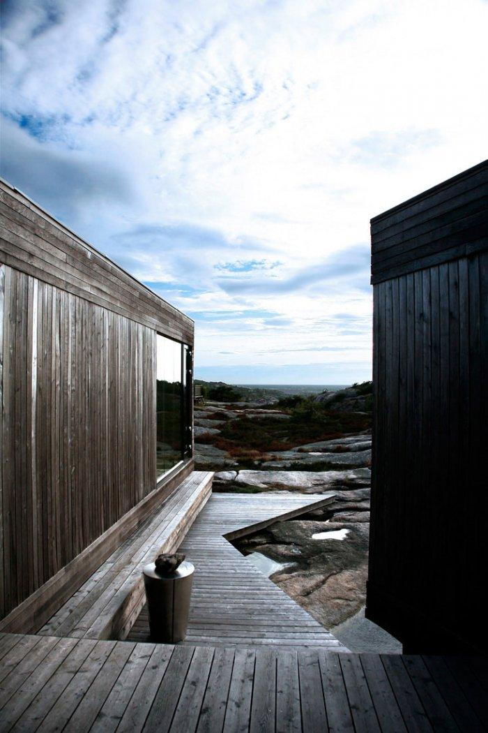 Summer Property View - Lovely Small Summer House by the Ocean