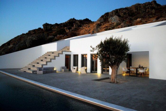 Architecture - Unbelievable Mediterranean Summer Villa in Naxos, Greece