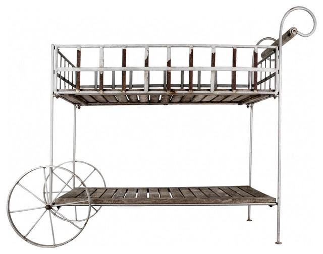 Vintage French Garden Cart - How to Decorate a Garden without Patio Furniture?