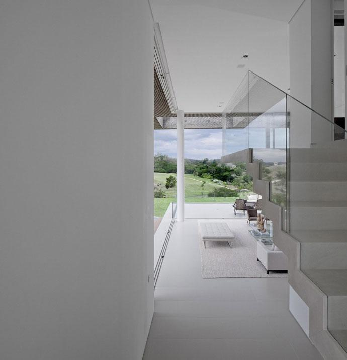 White Home Design - Luxury Countryside Contemporary House near Sao Paulo