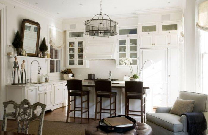 White Kitchen - Best USA Decor Examples of Home Wall Painting Ideas