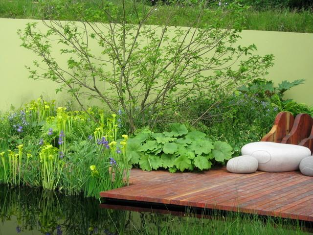 Wooden Path - Garden Decor Ideas - Unique and Fresh Examples