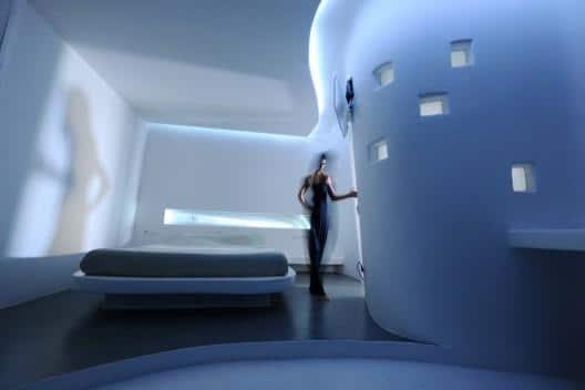 Futuristic Hotel Interior Design Andronikos Mykonos