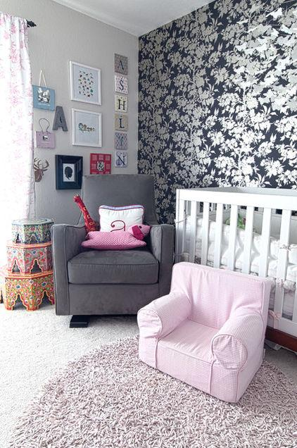 Ashlyn – baby name written on a wall - Home Decor Trends in the Nursery – Words & Quotes on the Wall