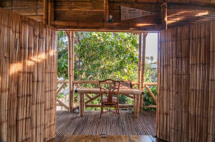 Bamboo House Sustainable Home Interior Design In