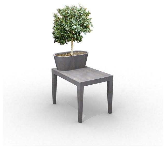 Fantastic Beautiful Concrete Tree Vase for Outdoor Use Examples