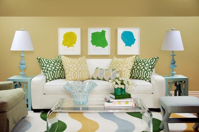 Colorful Decoration with sofa pillows - The Magical Cushions
