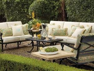 Comfortable Eclectic Soft Outdoor Furniture Sofa - Summer Garden Party and Fun Ideas, Tips and Examples