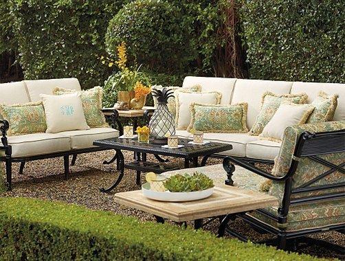 Summer garden party and fun ideas tips and examples founterior - Garden furniture ideas fun good taste ...