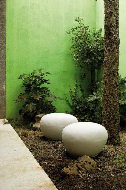 Fantastic Concrete Decorative Patio Elements Examples