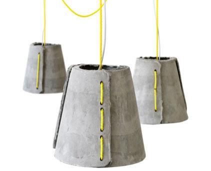 Fantastic Creative Design of a Concrete Hanging Lighting Desing Examples