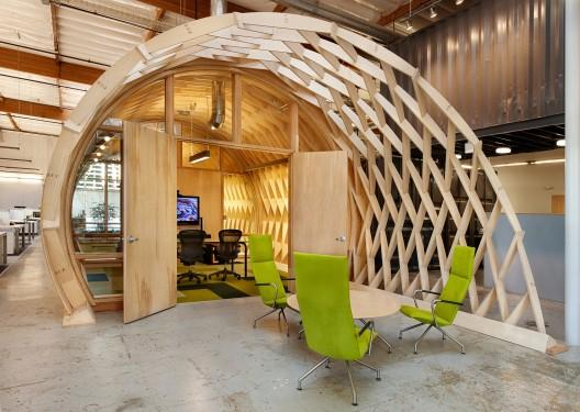 Creative office conference room - Sustainable Office Interior Design - Cuningham Group