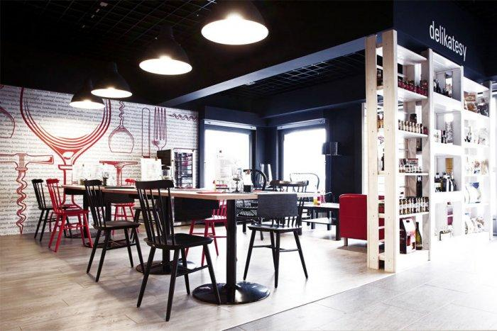 Creative and Cozy Wine Shop and Restaurant Design and Architecture