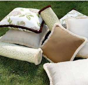 Decorative Patio Cushions- Summer Garden Party and Fun Ideas, Tips and Examples