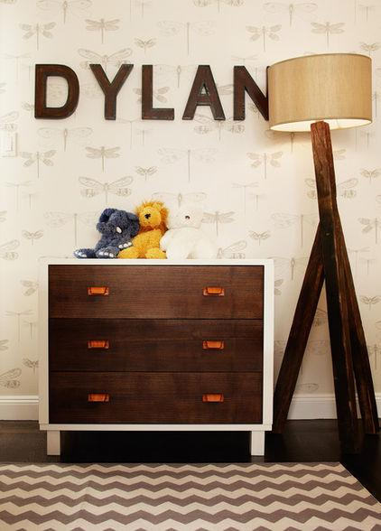 Dylan – baby name written on a wall - Home Decor Trends in the Nursery – Words & Quotes on the Wall
