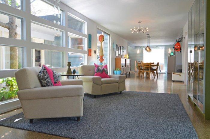 Eclectic Dallas Home with MidCentury Interior Design Founterior