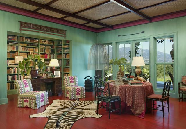 Eclectic Green Room Decor Ideas  - The Jungle Inspiration