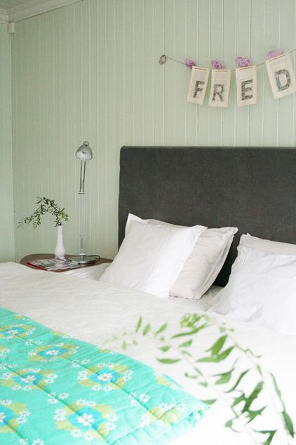 Fred – baby name written on a wall - Home Decor Trends in the Nursery – Words & Quotes on the Wall